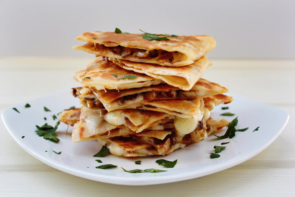Sophisticated Quesadillas.
