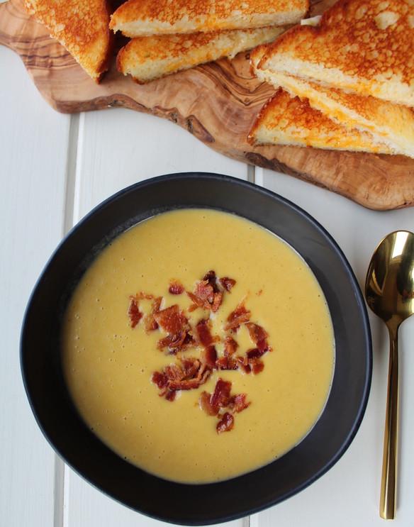 Creamy Root Veggie Soup.