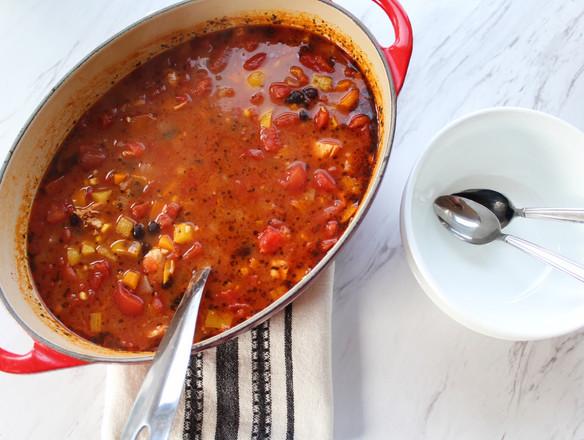 Chicken & Black Bean Soup.