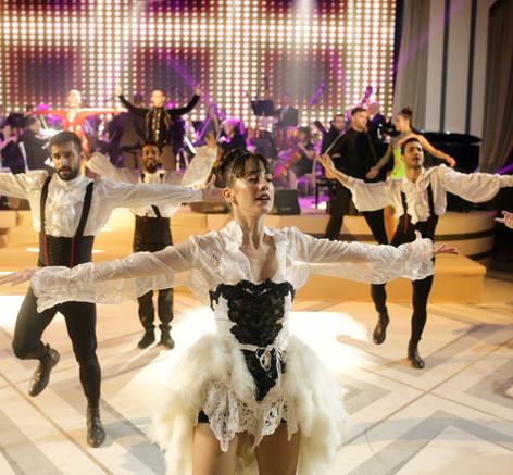 רקדנים מופע לאירוע