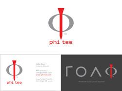 Phi Tee Corp Logo & Biz Card