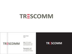 TresComm Corp Logo & Biz Card