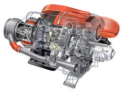 [Sundstrand] Jet Motor Cutaway