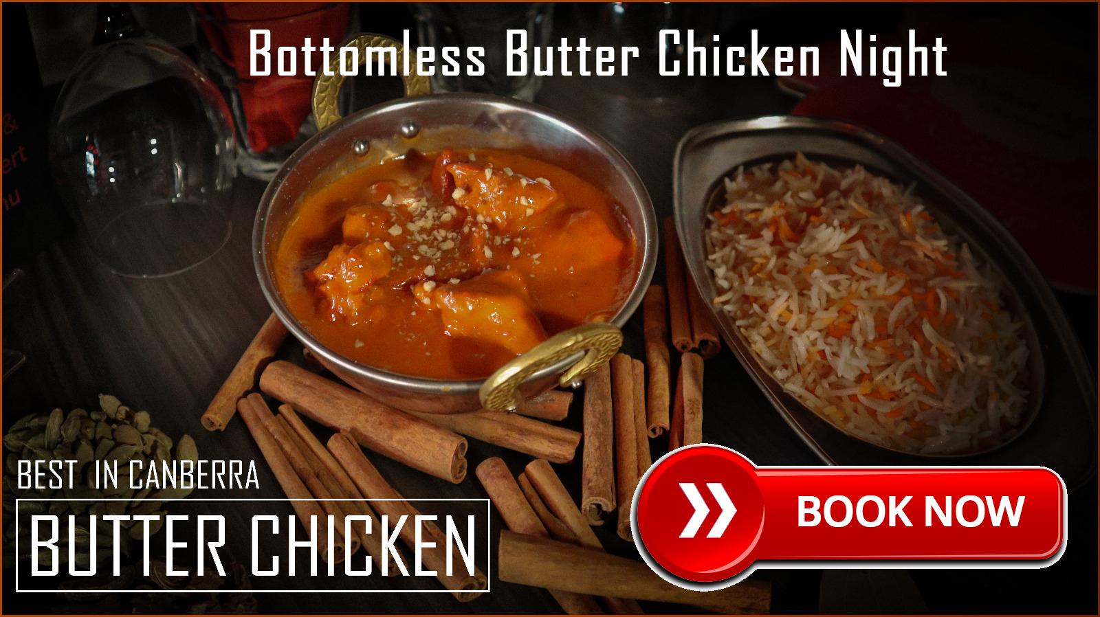 Bottomless Butter Chicken