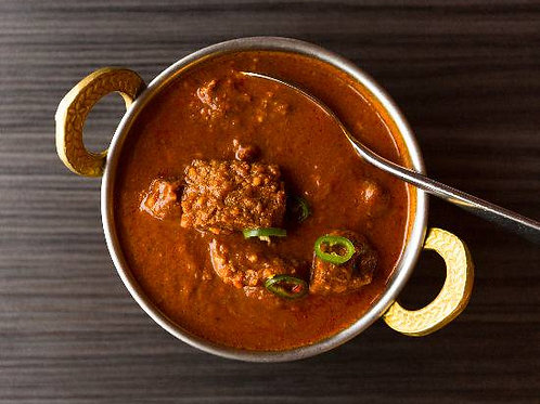Beef Vindaloo with Rice