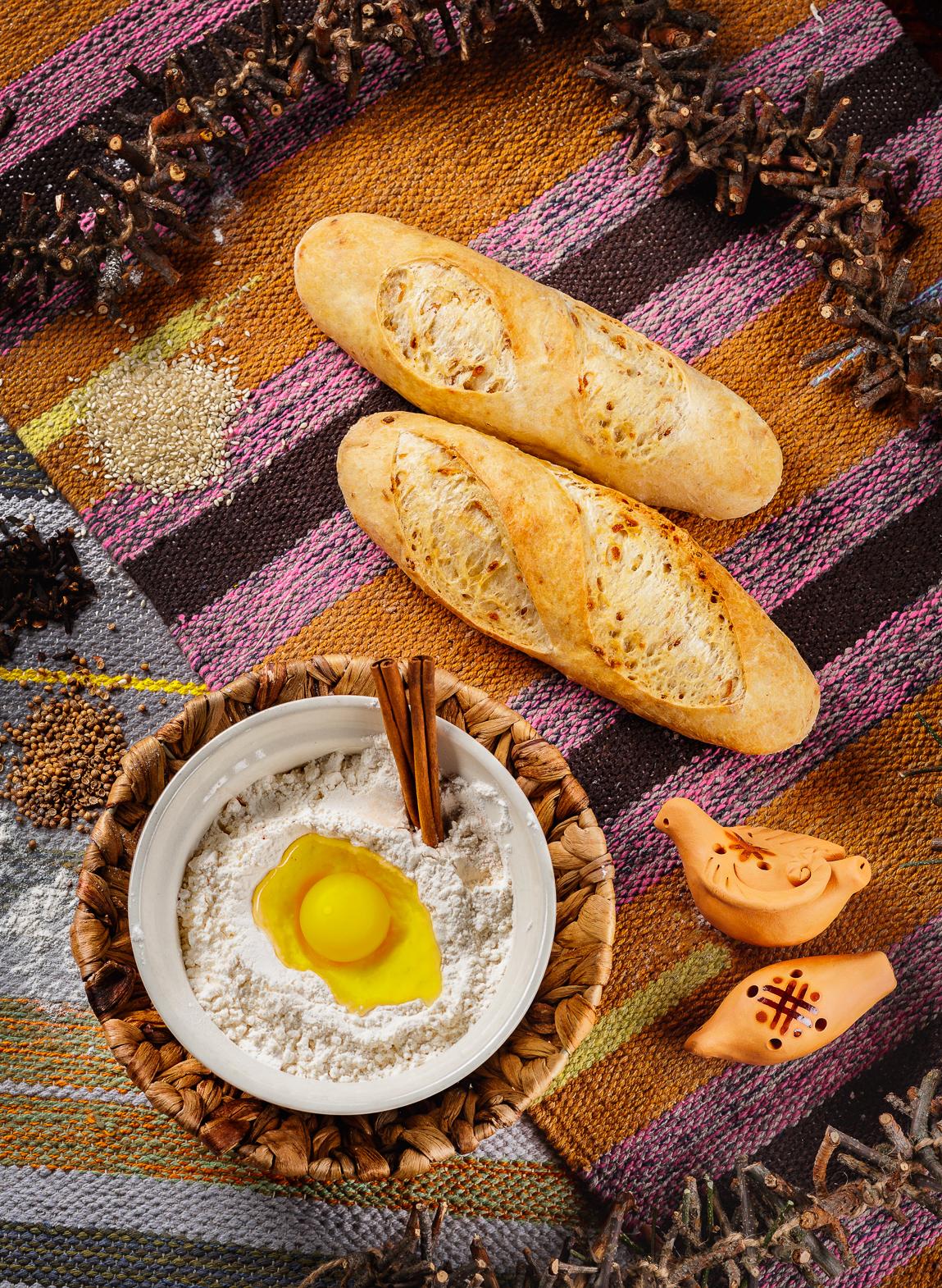 Фуд-фото хлеба, выпечки.