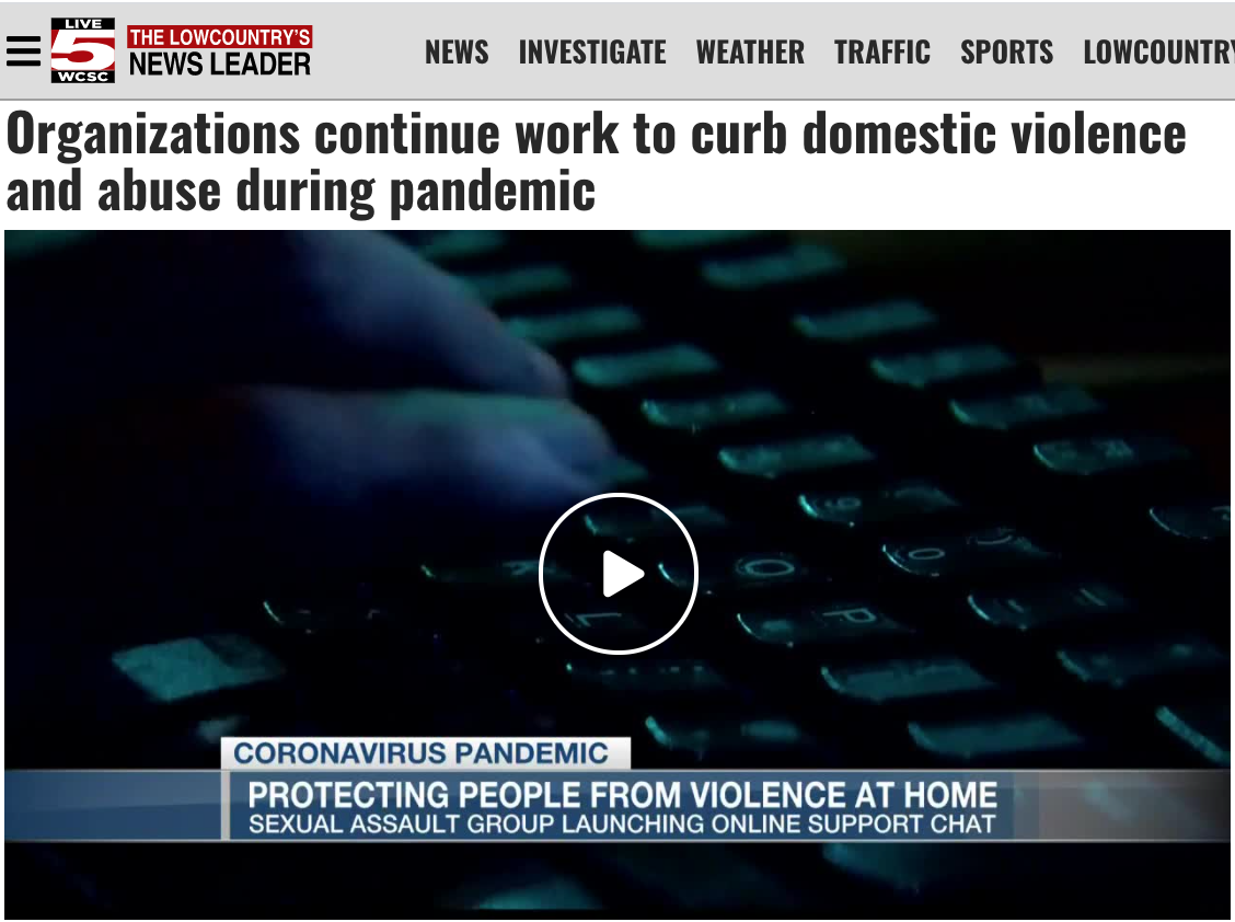 Live5: Organizations continue work to curb domestic violence and abuse during pandemic