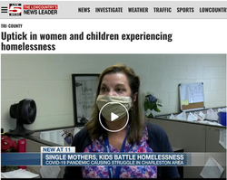 Live5: Uptick in women and children experiencing homelessness