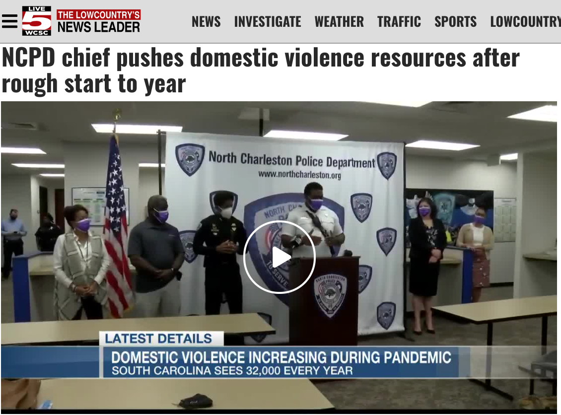 NCPD chief pushes domestic violence resources after rough start to year