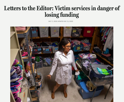 Post & Courier: Letters to the Editor: Victim services in danger of losing funding