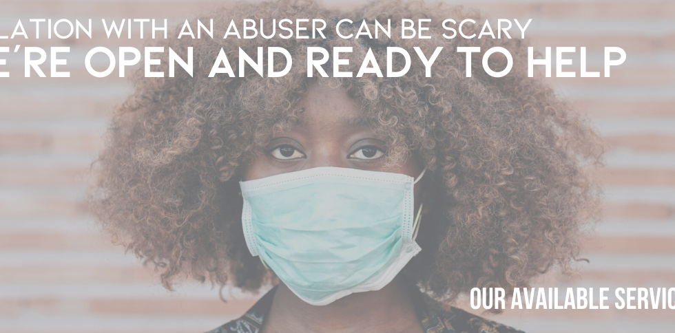 Isolation with an abuser can be scary - My Sister's House is open and ready to help.