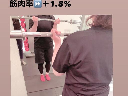☆最初の1ヶ月は3キロ〜4キロ