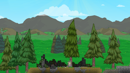 The Colonist | Forest Ruins