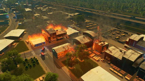 Old Harbour | Warehouse Fire