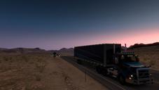 Trucks and Trailers | Desert Sunrise