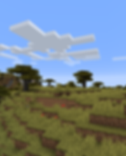 4K Minecraft Savannah 1