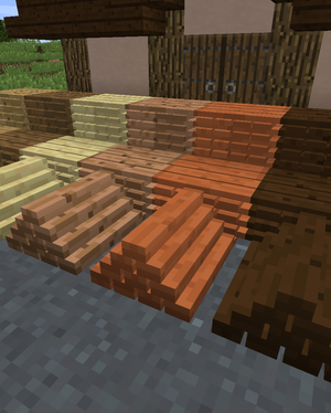 More Blox All Plank Piles