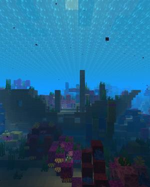 4K Minecraft Ocean 2