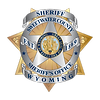 2019 Badge - Sheriff with Wyoming Banner