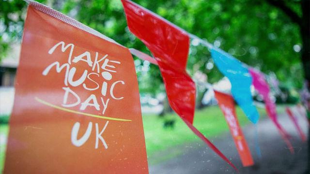 A GLOBAL CELEBRATION OF MUSIC IN OVER 120 COUNTRIES EVERY 21 JUNE ONE MAKE MUSIC DAY