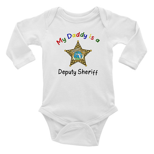 MCSO Daddy Infant Long Sleeve Bodysuit