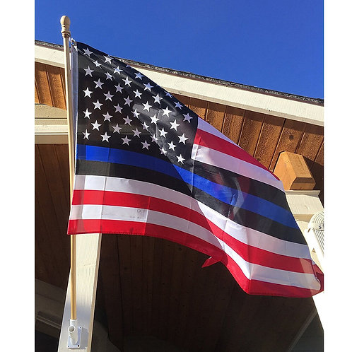 2020 New Arrival Thin Blue Line American Flag Police Lives 3x5 ft.