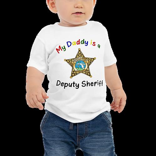 MCSO Deputy Daddy Jersey Short Sleeve Tee