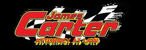 James Carter Racing Logo Final with flag