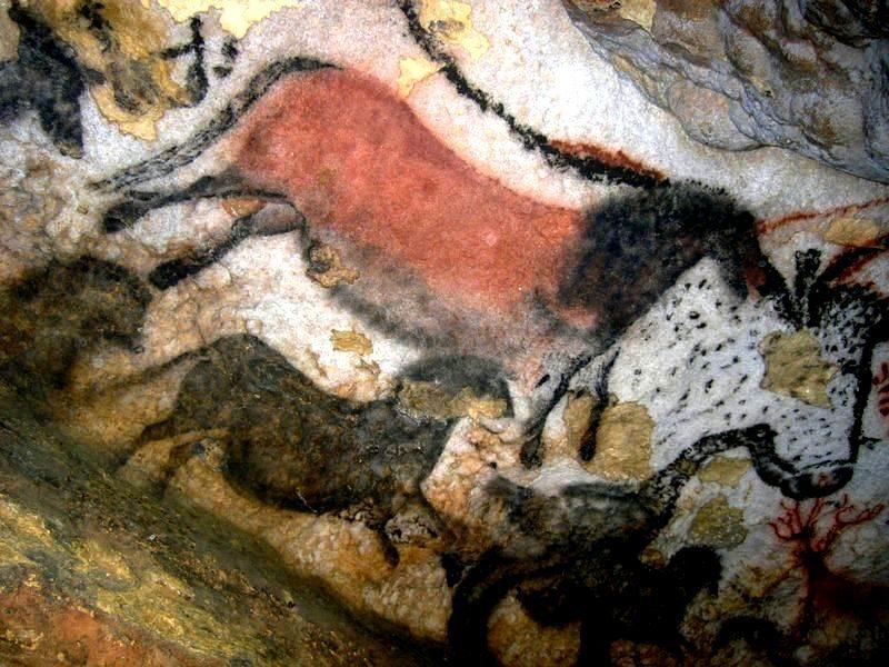 Grotte de Lascaux Salle des Taureaux
