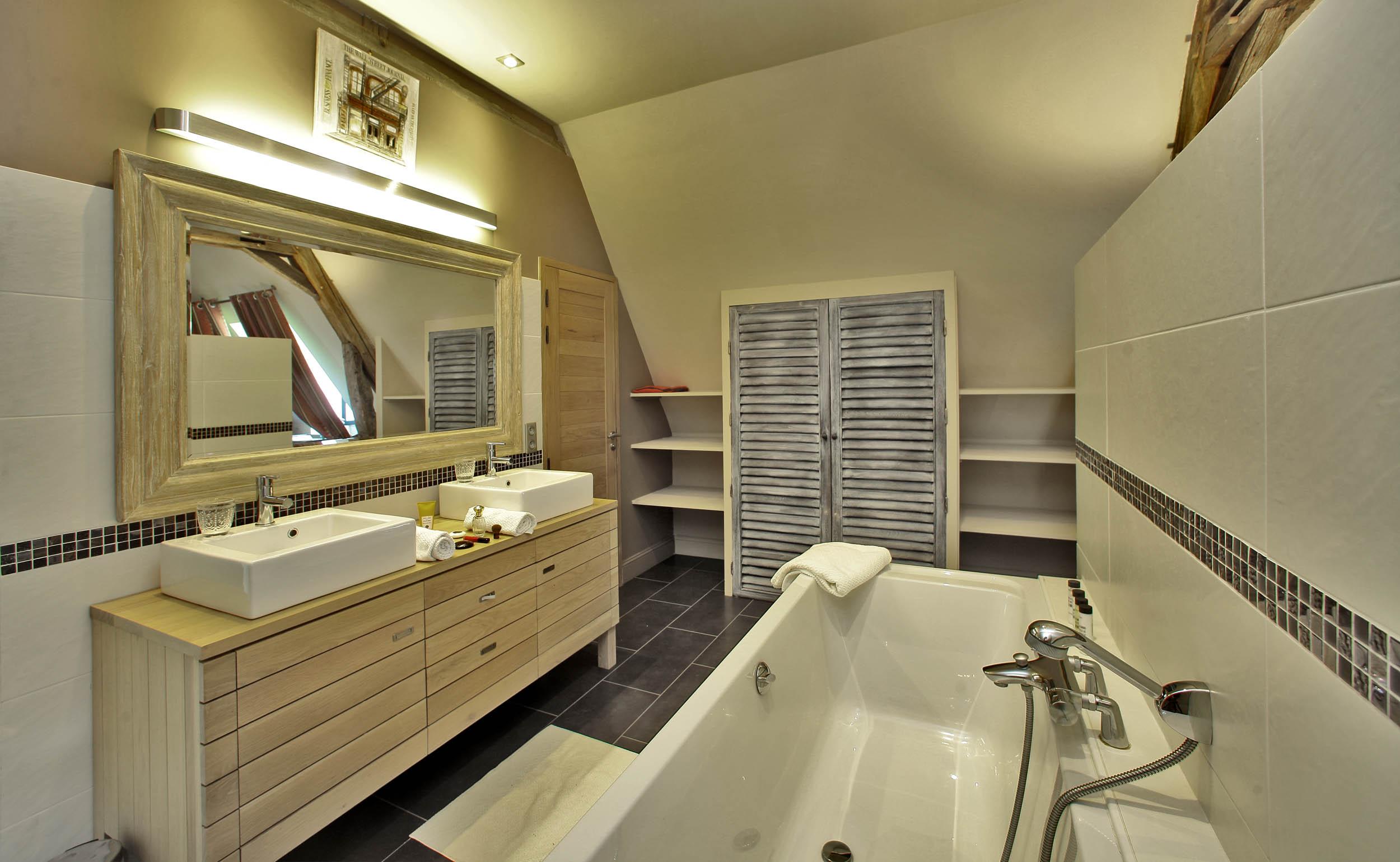 salle de bain privée la source