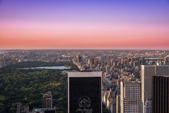 Sunset New York