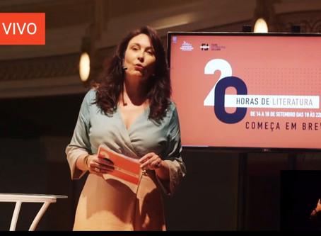 """""""20 Horas de Literatura"""" lança e-book e propõe um debate sobre palavras contemporâneas"""