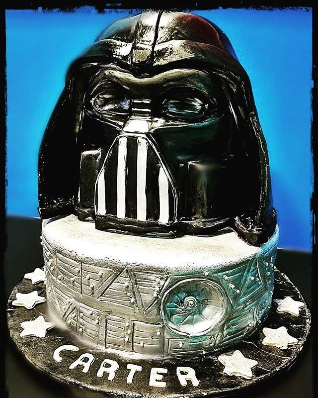 #darthvader #vader #starwars #cakeofthew