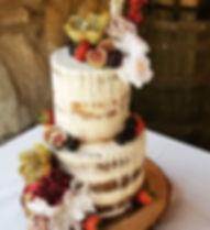 #nakedcake #rusticwedding #atlanta #wedd