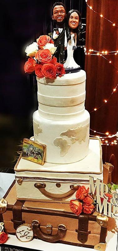 #weddings #worldtraveler #bride #groom #