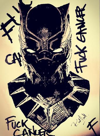 Black Panther - Fuck Cancer