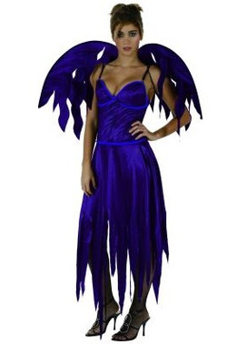 Ange déchu violet