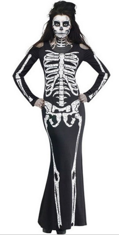 Lady skeleton