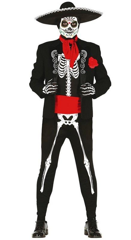 Mexicain squelette