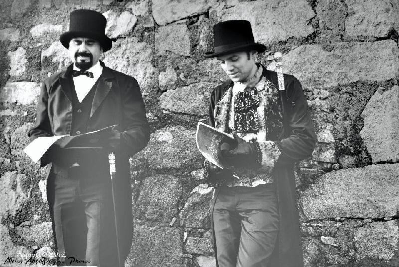 Comte de Montégristo et Blaise