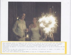 MARIAGE MANOIR 14 JUILLET 2007