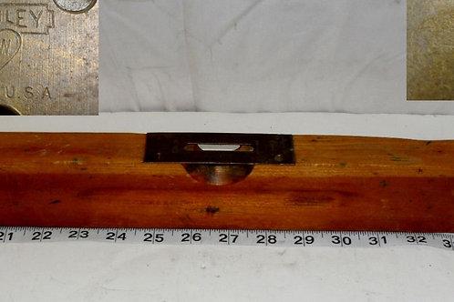 Stanley SW Wooden Plumb Level No. 103