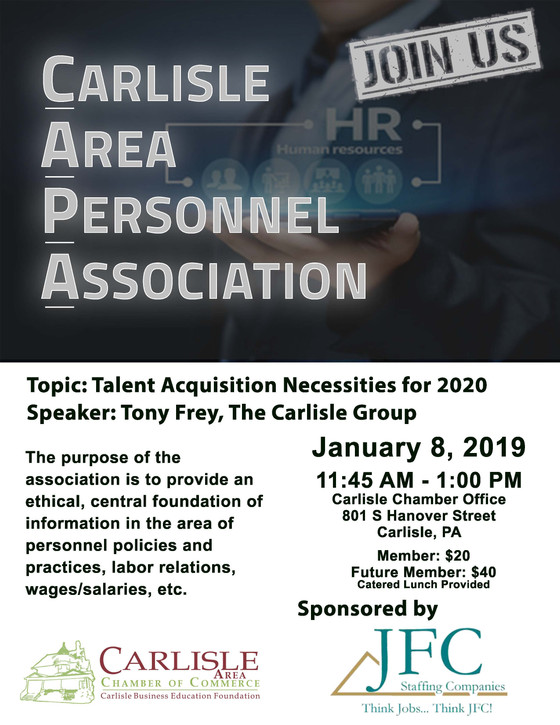 Talent Acquisition Necessities for 2020 -- CAPA event!