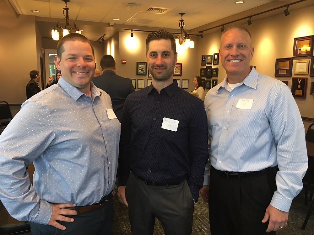 Brett Myers, Aaron Confer, Tony Frey of TCG