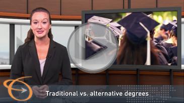 Employer attitudes on traditional degrees vs. online degrees
