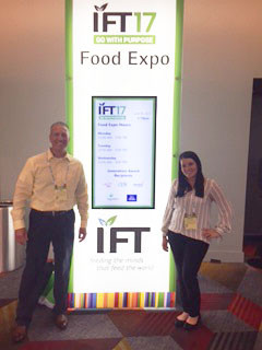 TCG's Food Manufacturing Team at IFT in Las Vegas