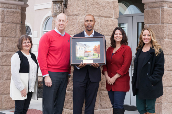 Painting Presented as TCG's Building Wins Project of the Year Award