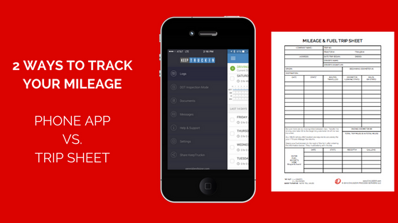 2 Ways To Track Your IFTA Mileage