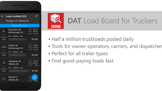 Load Board App Available for iPhone