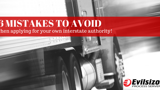 6 Mistakes Most People Make When Applying For Interstate Authority